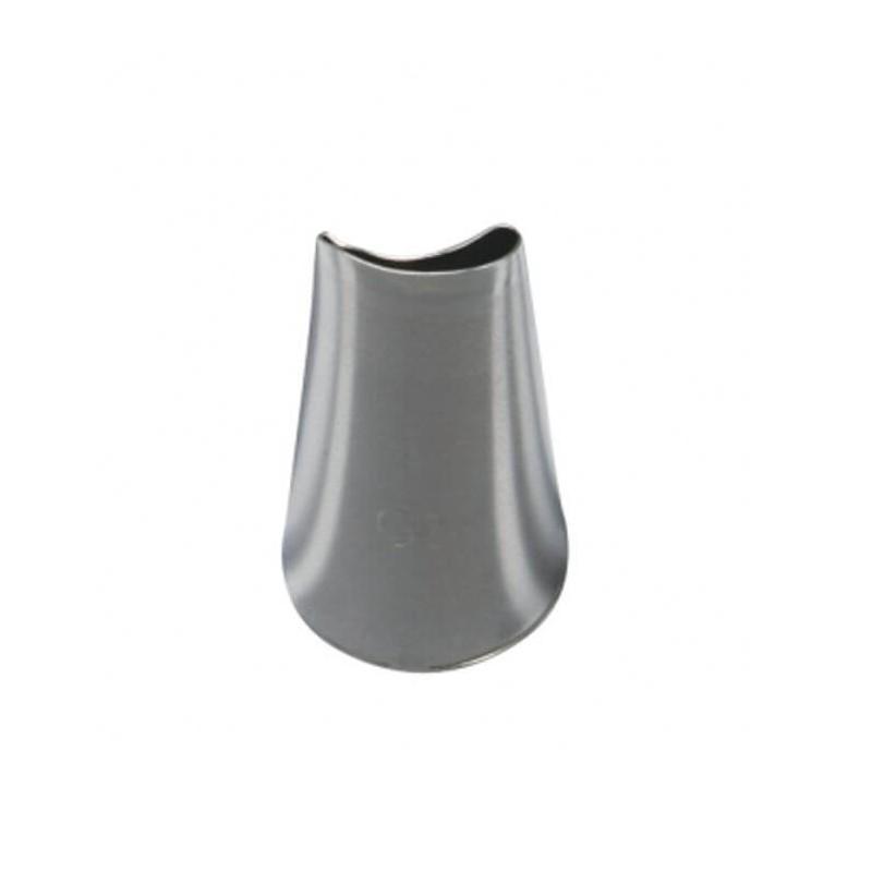 Beccuccio inox Rosa curva ø mm 12