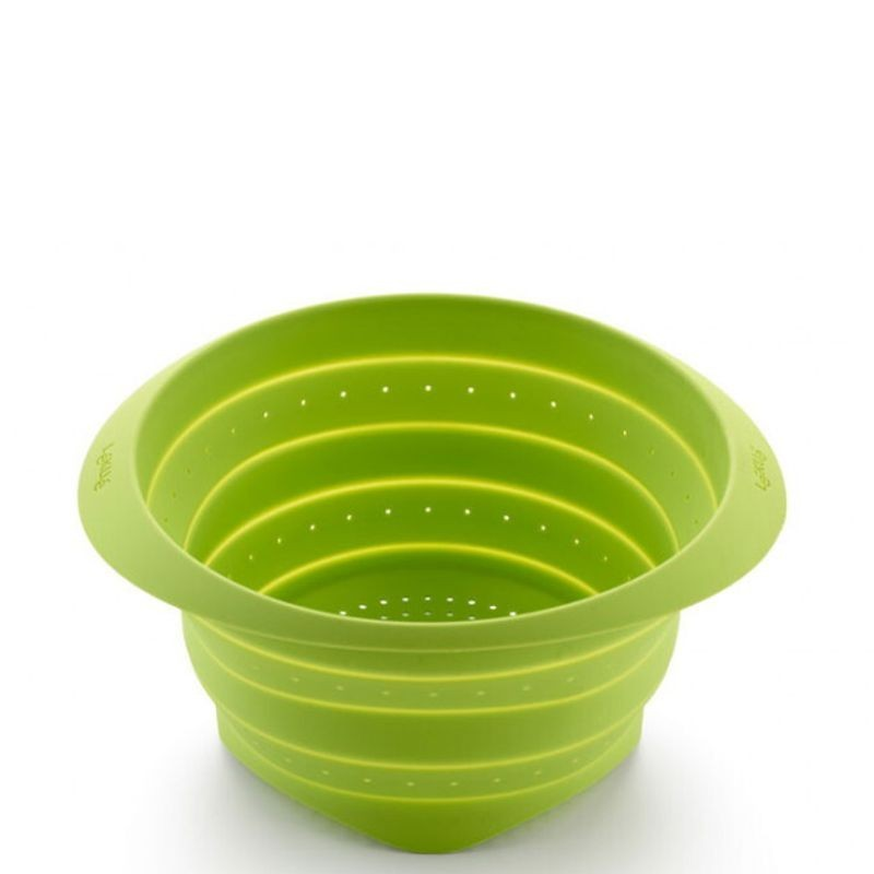 Scolapasta e strizzaverdure verde ø cm 23 - Lékue