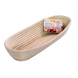 Cestino rigapane in legno cm 42 x 17 x 6