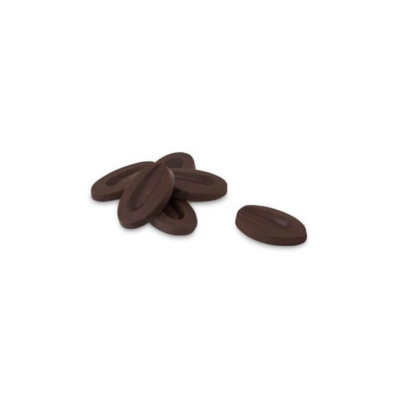Caraibe 66 % fave cioccolato Valrhona