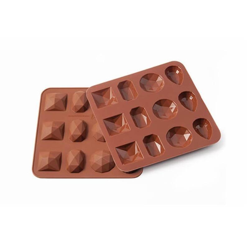 Stampo cioccolato Diamonds Silikomart