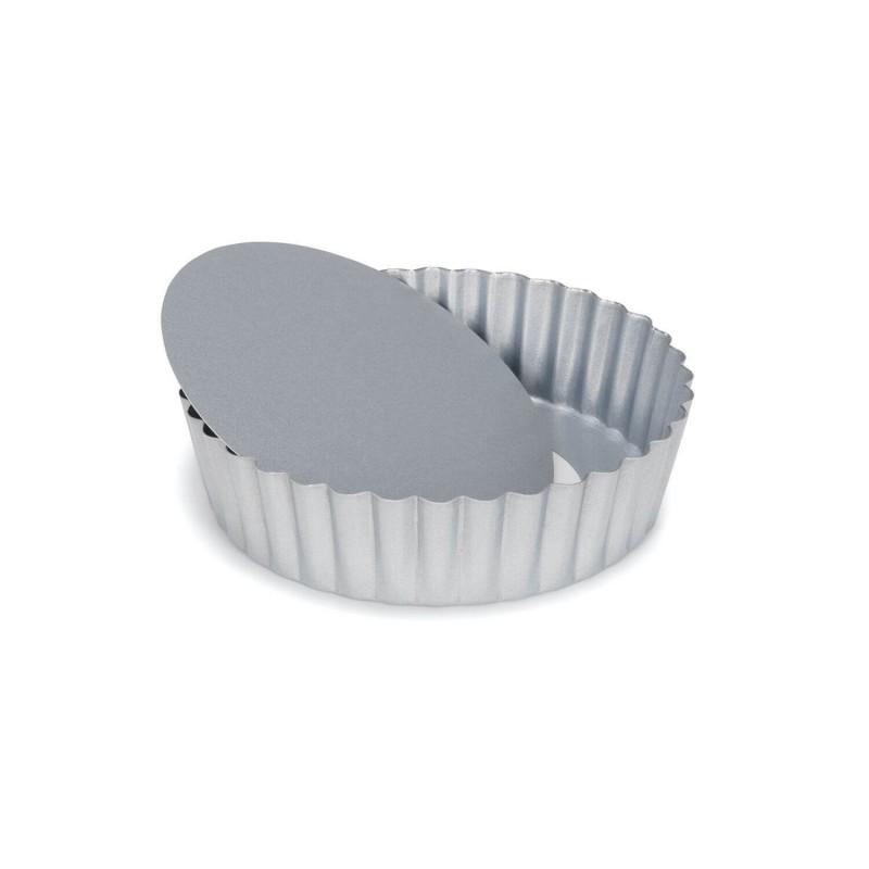 Quiche Silver Top ø cm 15 fondo sollevabile