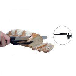 Coltello da pane con guida taglio
