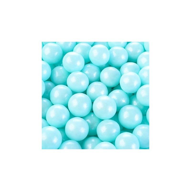 Perle azzurre in zucchero ø mm 9 - 125 g