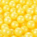 Perle gialle in zucchero ø mm 9 - 125 g