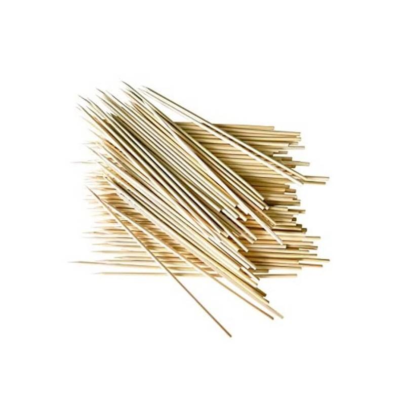 Spiedi in bambù 25 cm - 100 pz