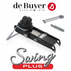 Mandolina swing plus nero - De Buyer