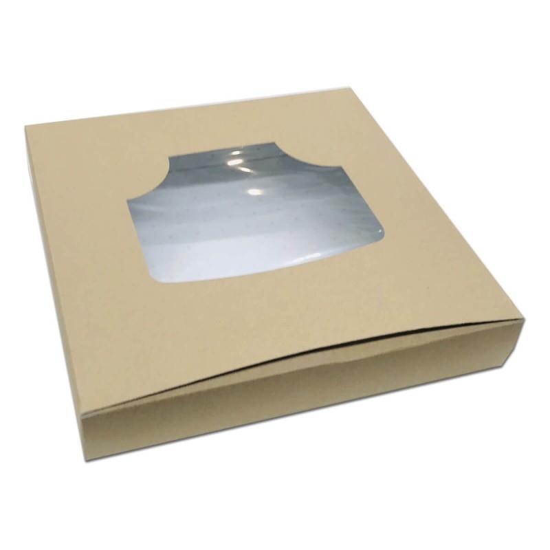 Scatola crostata eco kraft cm 30x30