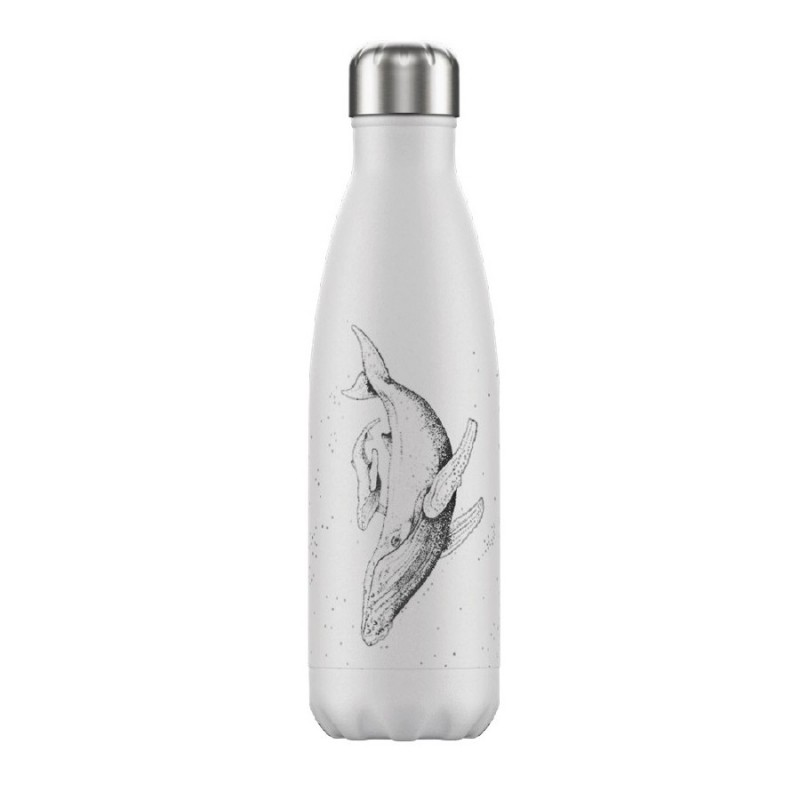 Chilly's Bottle 500 ml Sea Life Whale