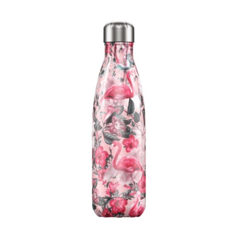Chilly's Bottle 500 ml Tropical Flamingo