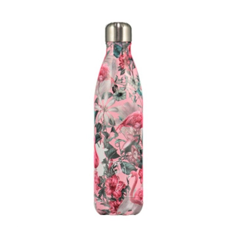 Chilly's Bottle 750 ml Tropical Flamingo