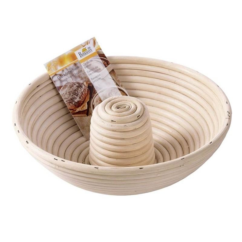 Cestino rigapane in legno ciambella kg 1