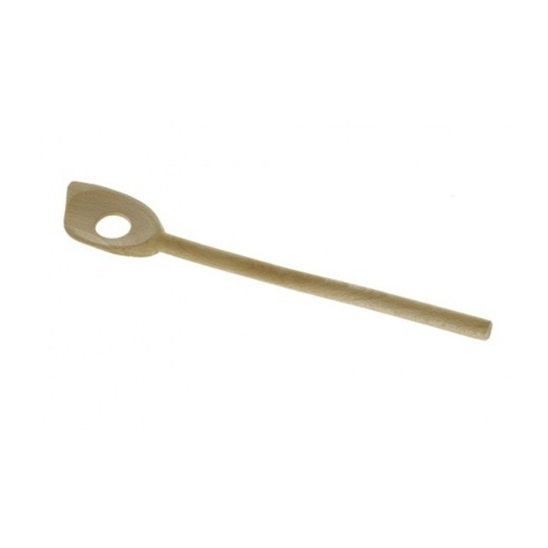 Cucchiaio forato in legno B BOIS De Buyer