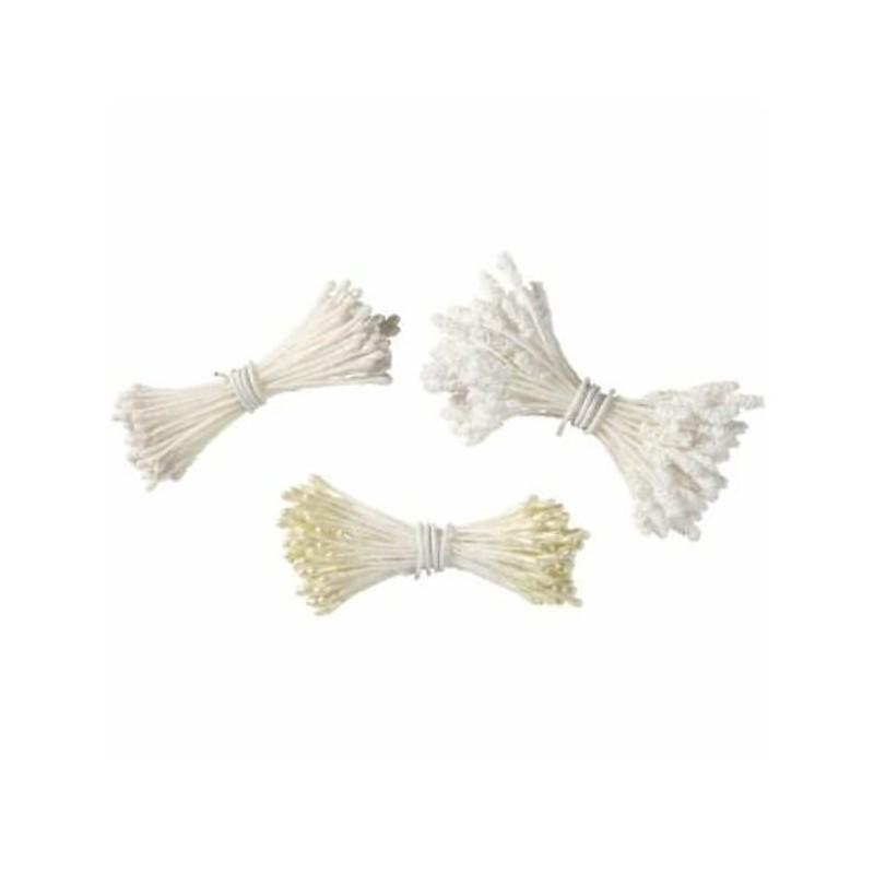 Pistilli assortiti bianchi pz 180 wilton