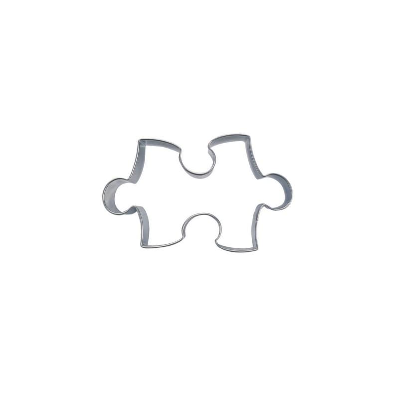 Puzzle micro cm 2 tagliabiscotti inox