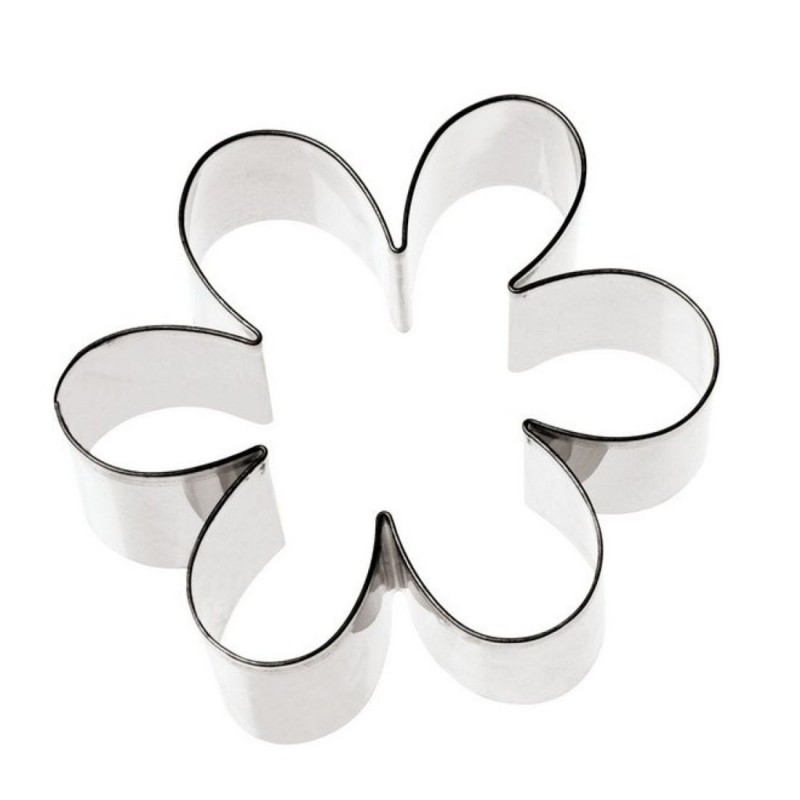 Fiore 6 petali ø mm 75 tagliapasta inox