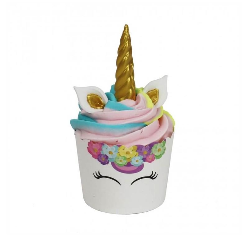Unicorno cupcake kit - 6