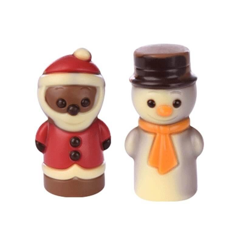 Soggetto Natale in cioccolato al latte