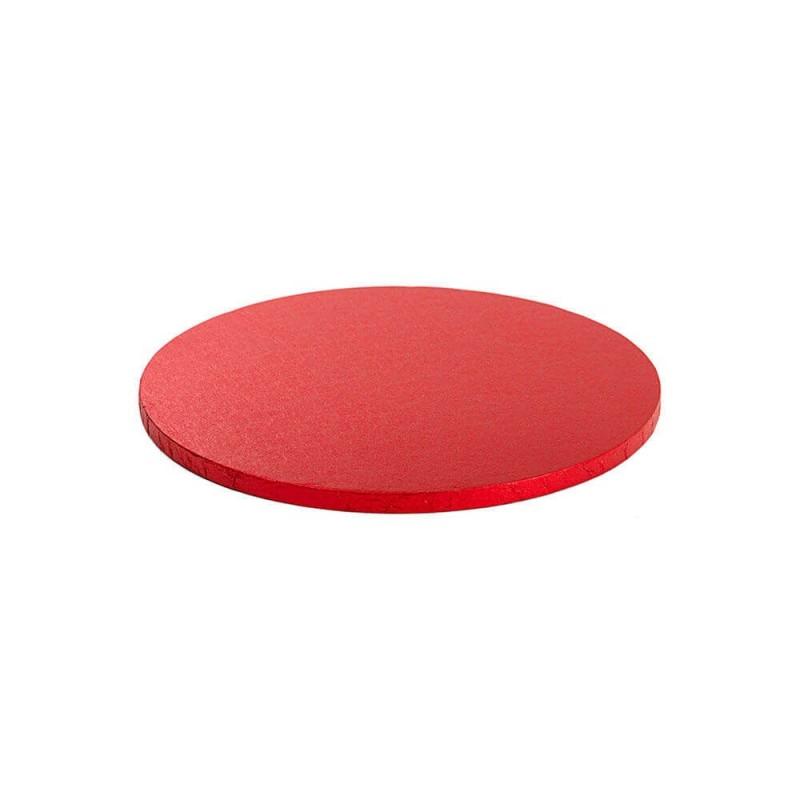 Cakeboard rossa ø cm 30 h mm 12