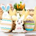 Coniglio e uovo decorato tagliapasta