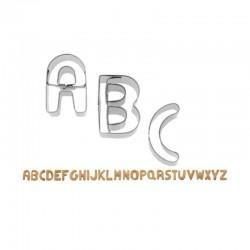 Tagliapasta Lettere Alfabeto inox