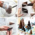 Stampo in PC per cioccolato coni mm 40