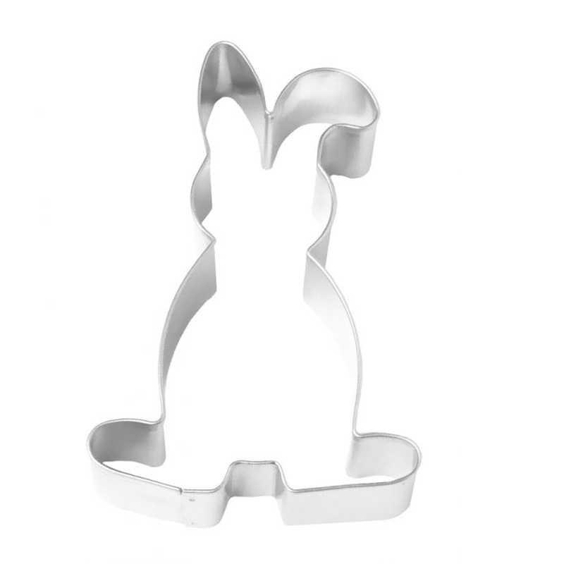 Coniglio orecchio piegato mm 115 tagliabiscotti inox