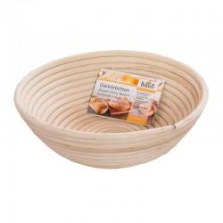 Cestino rigapane in legno tondo per 2 kg