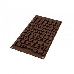 Choco ABC stampo lettere -Silikomart