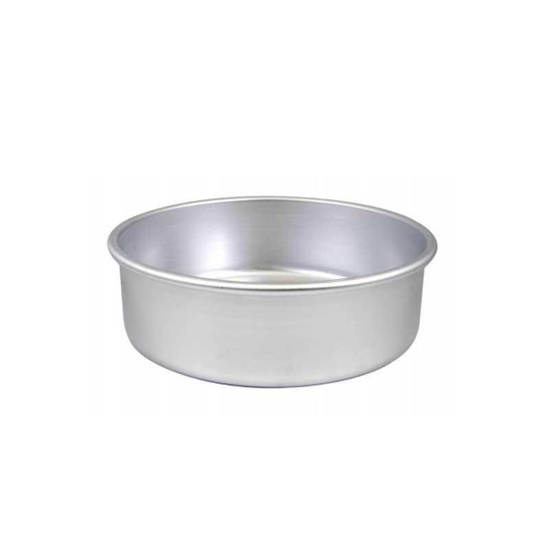 Tortiera cilindrica ø cm 16 h cm 8 in alluminio