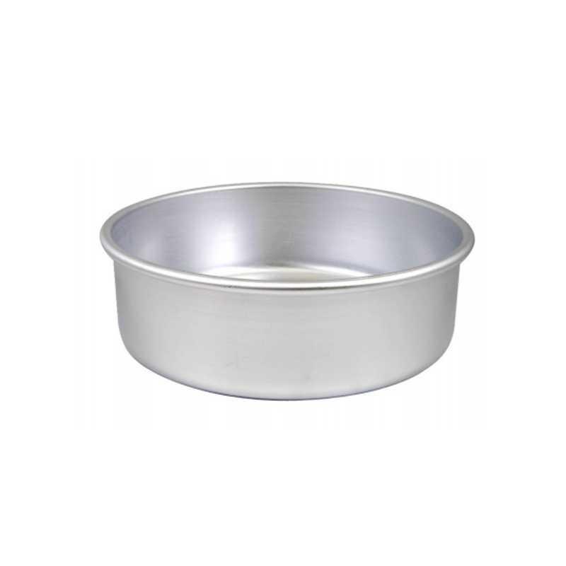 Tortiera cilindrica ø cm 20 h cm 8 in alluminio