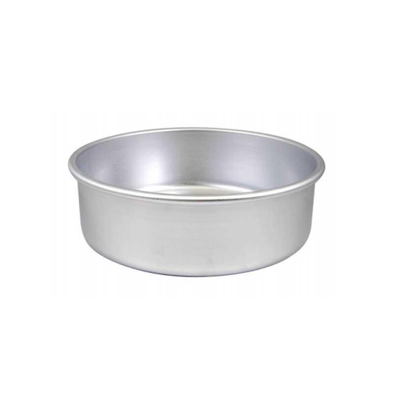 Tortiera cilindrica ø cm 24 h cm 8 in alluminio