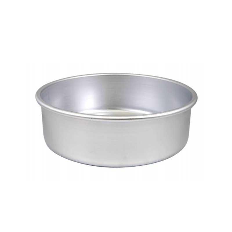 Tortiera cilindrica ø cm 28 h cm 8 in alluminio