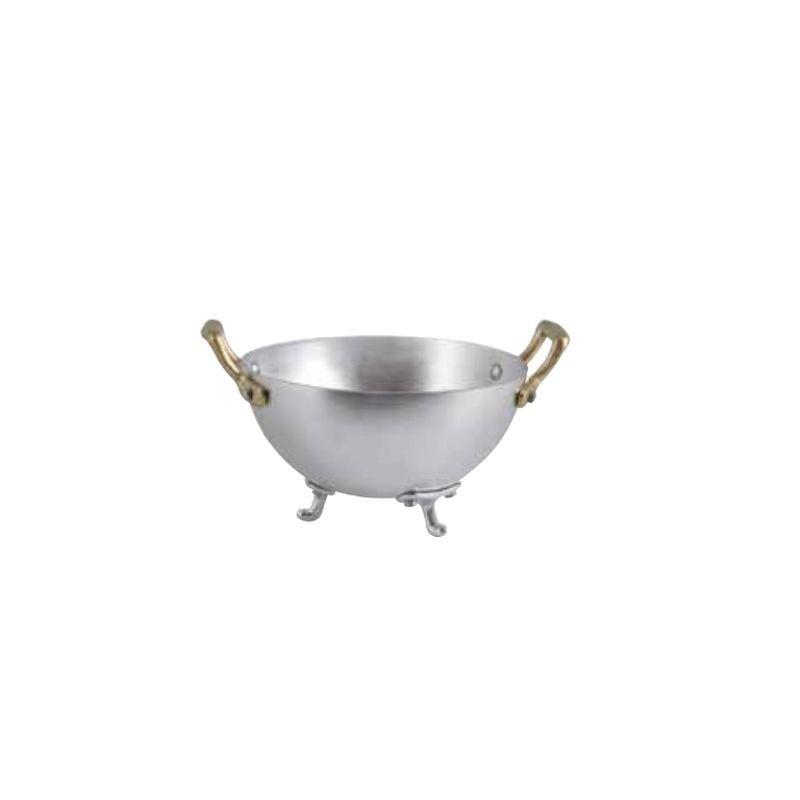Portapane mini zuppiera in alluminio ø cm 16