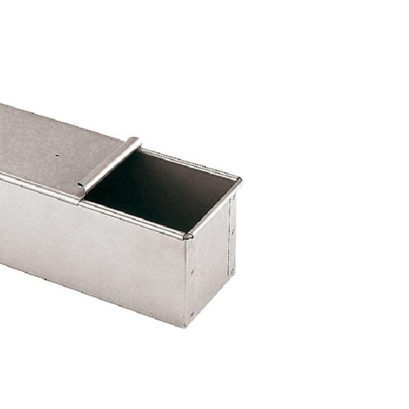 Stampo pane in cassetta con coperchio