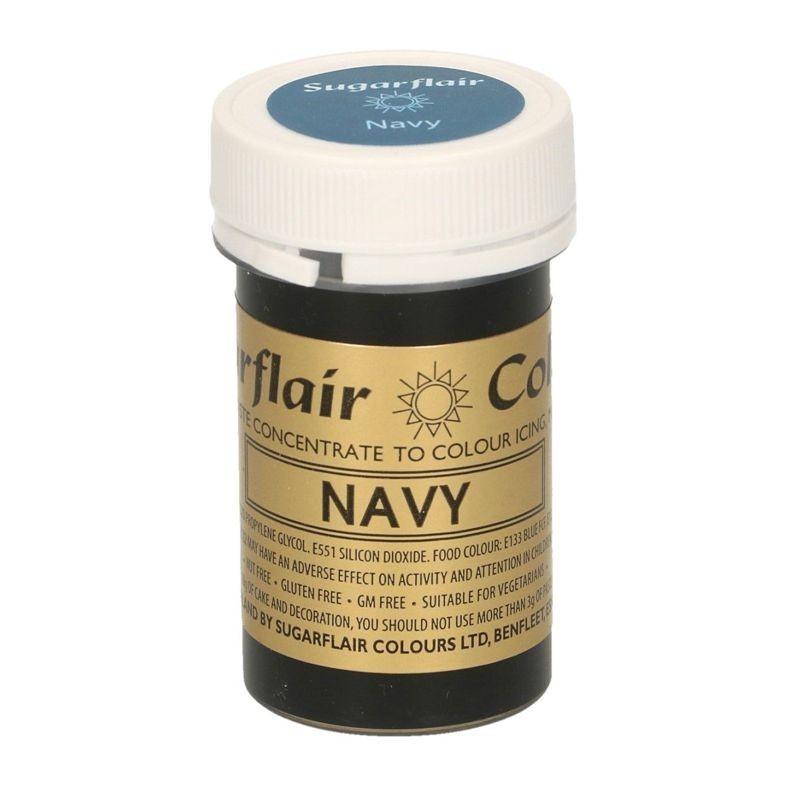 Blu navy alimentare pasta concentrata