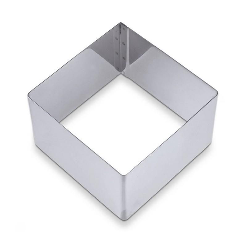 Coppapasta inox quadrato cm 12x12 h cm 4