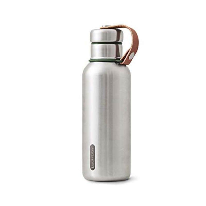 Insulated water bottle 500 ml black+blum