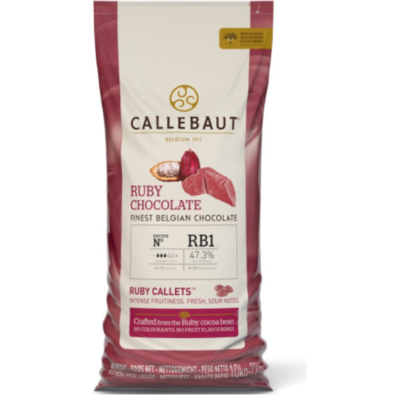 Cioccolato  Ruby RB1 - Barry Callebaut - g 400