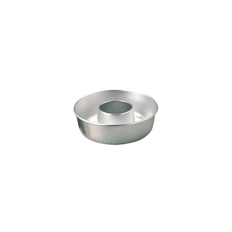 Ciambella liscia in alluminio ø cm 20 - h cm 6