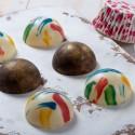 Stampo in PC per cioccolato mezza sfera mm 25