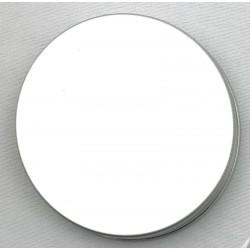 Tappo a vite d.100 mm in alluminio