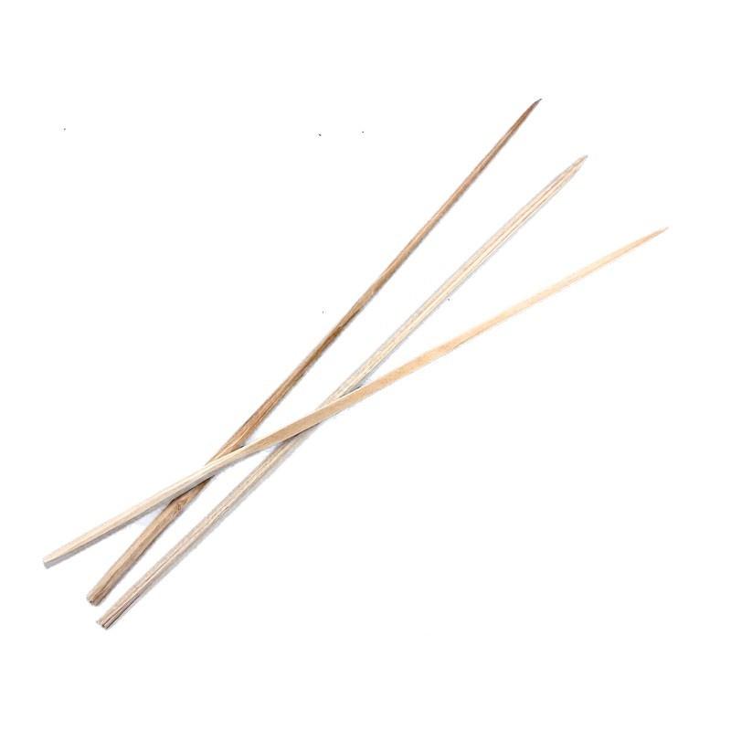 Spiedi in legno fatti a mano - cm 30 - circa 25 pz