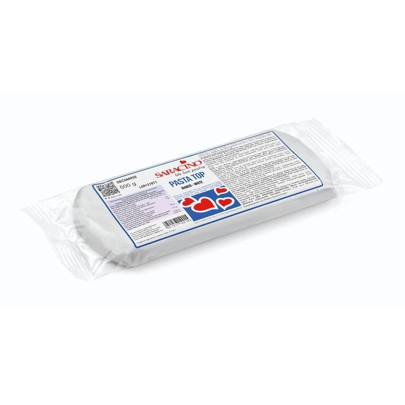 Pasta top da copertura Saracino g 500 bianco