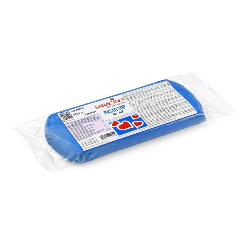 Pasta top da copertura Saracino g 500 blu