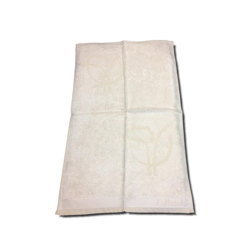 Asciugamano 110 x 60 l'Allodola - lenpur/cotone