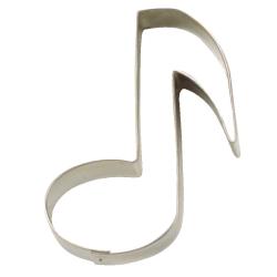Nota musicale cm 10 forminatagliabiscotti inox
