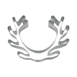 Palco corna renna cm 10 tagliabiscotti inox