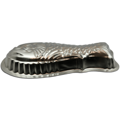 Stampo pesce in alluminio puro ø cm 35