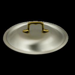 Coperchio bombato in alluminio puro - ø cm 20